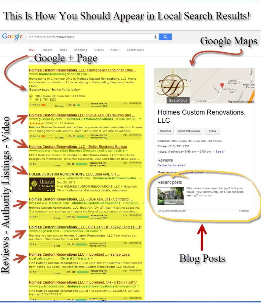 local-seo-results-page